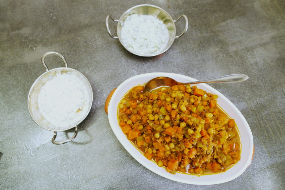 4024 Vegetarian Chickpea Curry