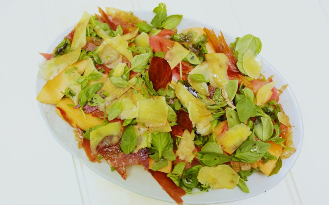 4023 Melon _ Proscuitto Salad Recipe - My Market kitchen