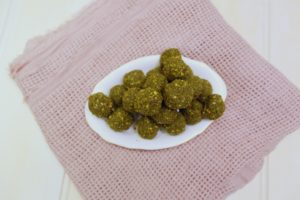 4029 Matcha Pistachio Bliss Balls - Header Image Recipe - My Market Kitchen