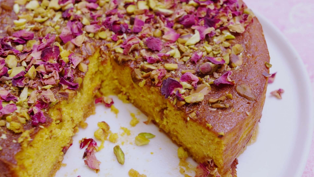 Pumpkin Persian Love Cake