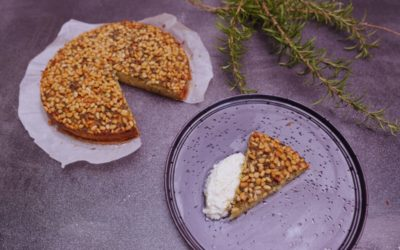 Rosemary, Pine Nut and Olive Oil Cake