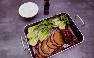Sweet and Sticky Roast Pork