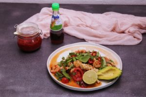 4124 Sweet and Sticky Seafood Salad Recipe - My Market Kitchen