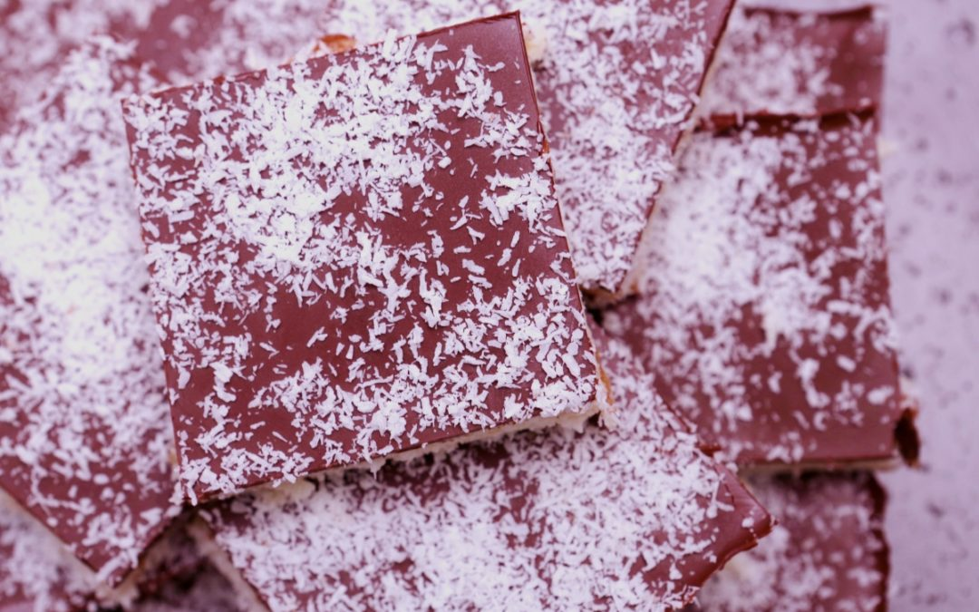 4205 Cherry _ Coconut Slice - Feature Image Recipe - My Market Kitchen