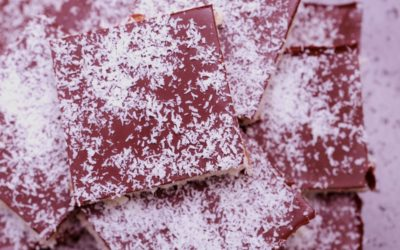 Cherry & Coconut Slice