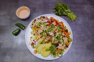 4005 Mexican Rainbow Salad - Feature Image Recipe - My Market Kitchen