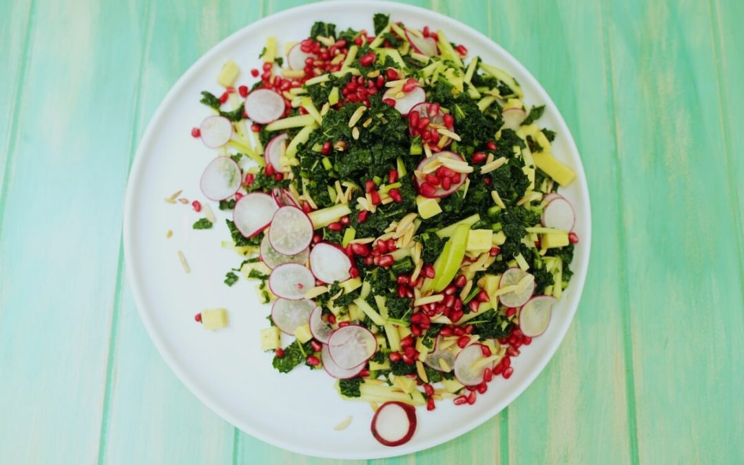 4031 Kale Salad2 Recipe - My Market Kitchen