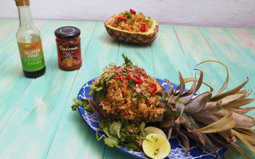 4132 Pineapple Fried Rice - Feature Image Recipe - My Market Kitchen