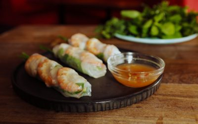 Prawn & Pork Rice Paper Rolls