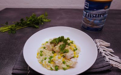 Chicken Pea and Corn Risotto