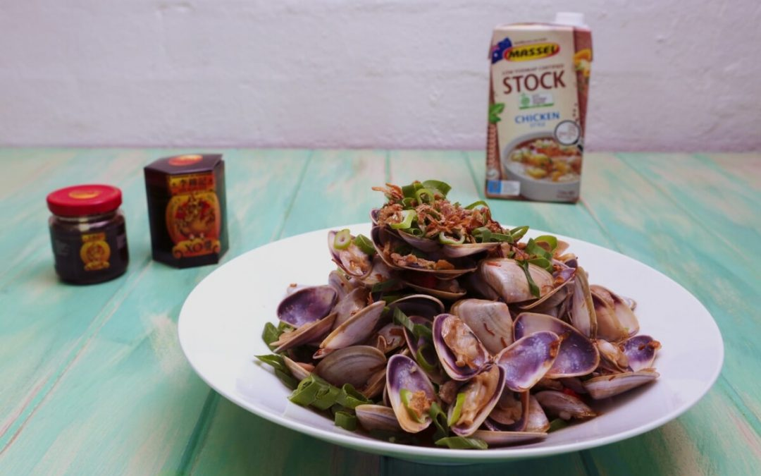 4139 Pipis in XO Sauce - Feature Image Recipe - My Market Kitchen