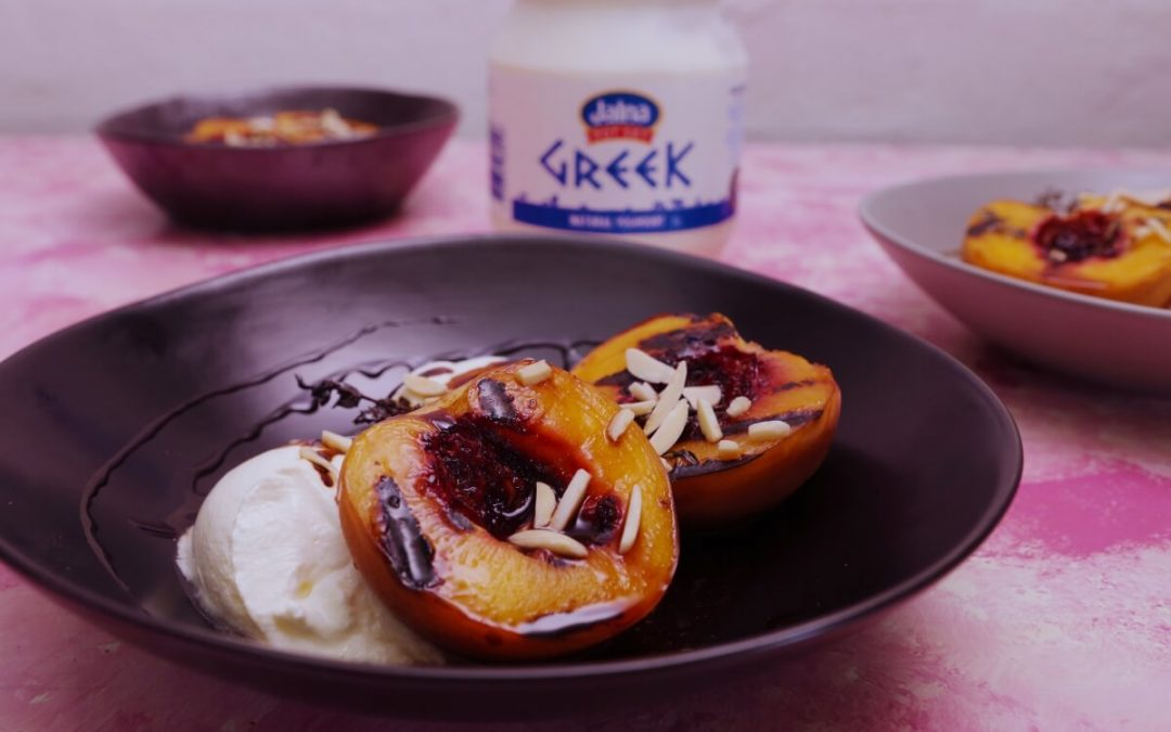 4146 Grilled Peaches with Yoghurt - Feature Recipe - My Market Kitchen