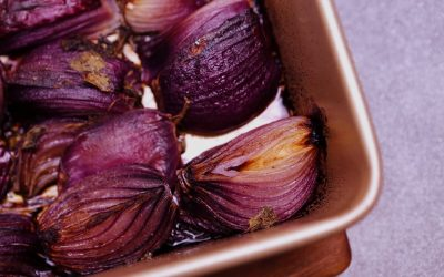 Balsamic & Oregano Roasted Onion