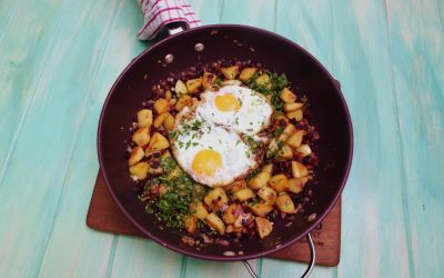 Potato and Chorizo Brekkie Hash