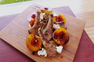 4055 Rosemary Lamb with Grilled Peaches - Header Recipe - My Market Kitchen