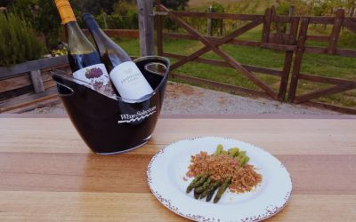Asparagus with Anchovy Crumb