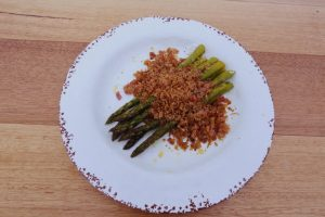 4059 Asparagus with Anchovy Crumb - Header Recipe - My Market Kitchen
