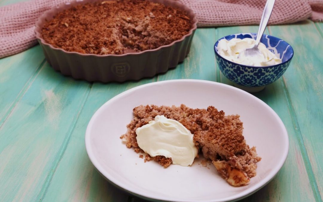 4169 Apple Crumble Pie - Feature Recipe - My Market Kitchen