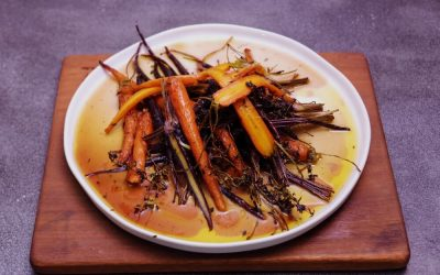 Honey Herbed Carrots
