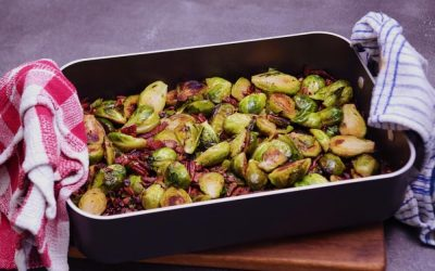 Crispy Crunchy Sprouts