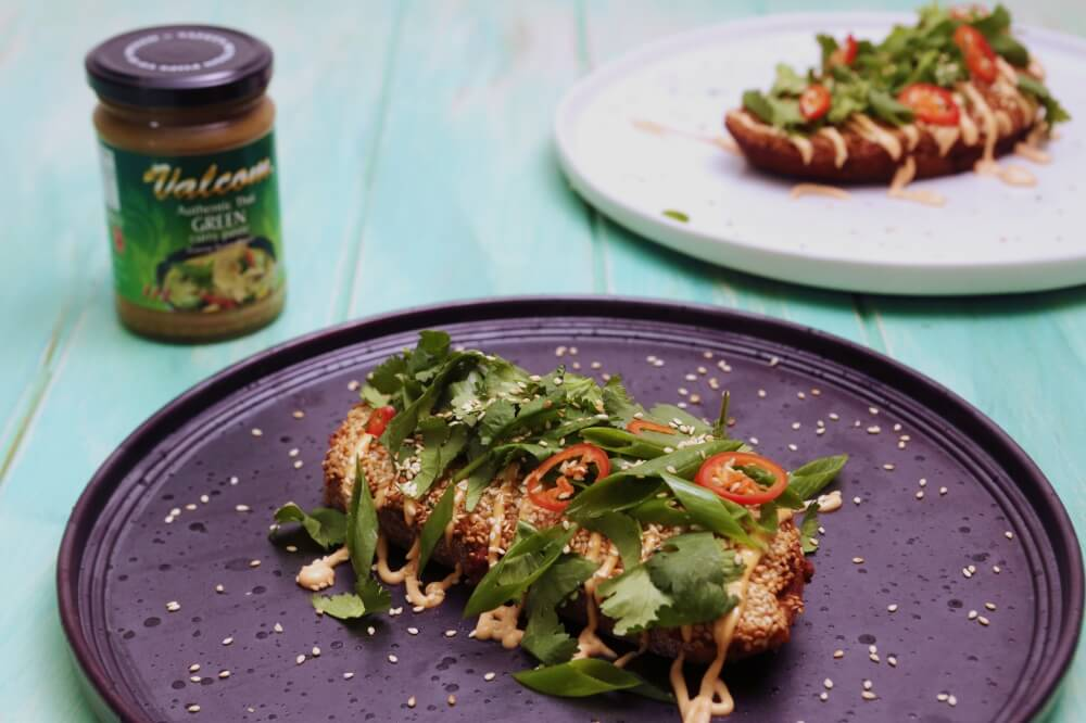 4198 Green Curry Prawn Toast Recipe - My Market Kitchen