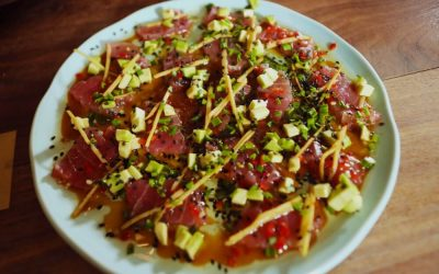 Tuna Song with Yuzu Dressing