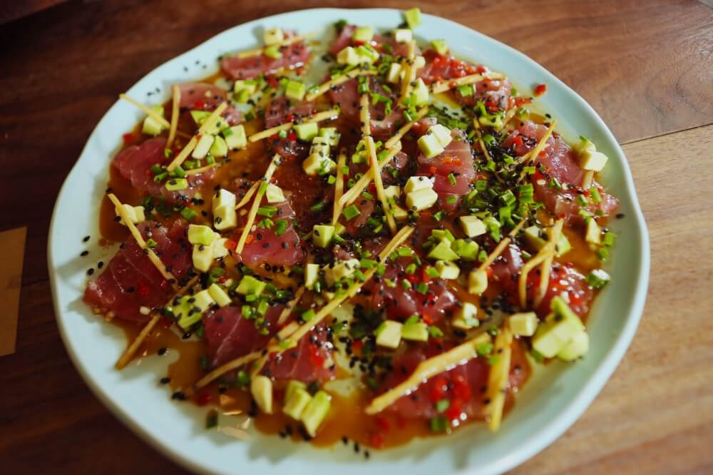 4211 Tuna Song with Yuzu dressing - Feature Recipe - My Market Kitchen