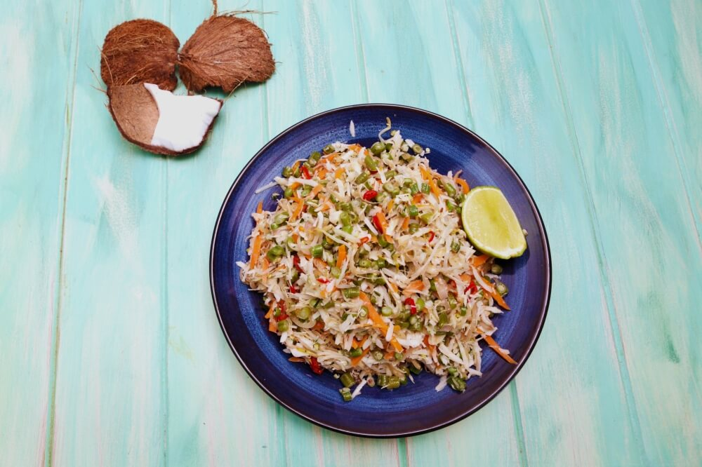 4216 Balinese Coconut _ Snake Bean Salad - Feature Recipe - My Market Kitchen