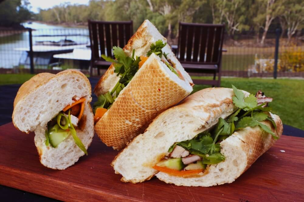Lemon Grass Chicken Banh Mi