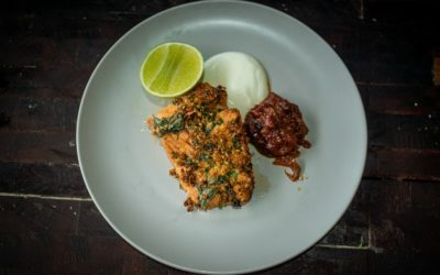 Indian Spice-Crusted Fish