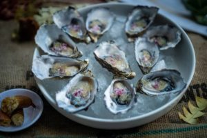 Oysters with Finger Limes - My Market Kitchen