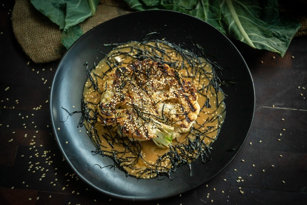 5089 BBQ Cauliflower Steaks with Miso - FEATURE
