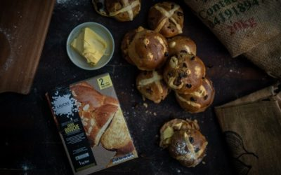 Hot Cross Brioche Buns