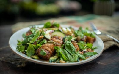 Crispy Pork Salad