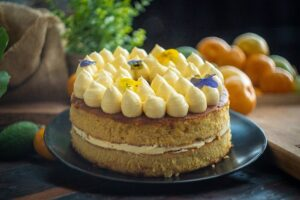 5199 Flourless Orange Cake with Lemon Buttercream - FEATURE