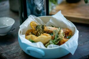 SS07 Prawn and Vegetable Fritto Misto - HEADER