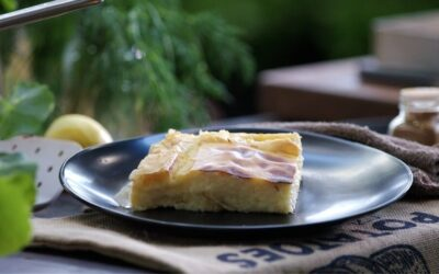 Galatopita (Greek Custard Pie)