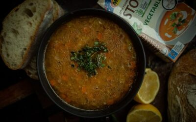 Vege Soup with Chickpeas