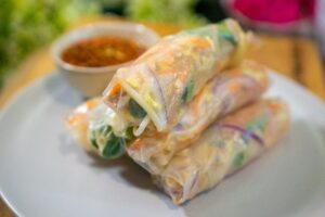 6006 Chicken Rice Paper Rolls 3 - HEADER