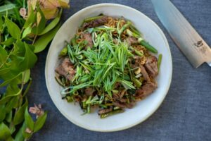 6052 Stir-Fried Beef with Black Pepper _ Morning Glory 2 - HEADER