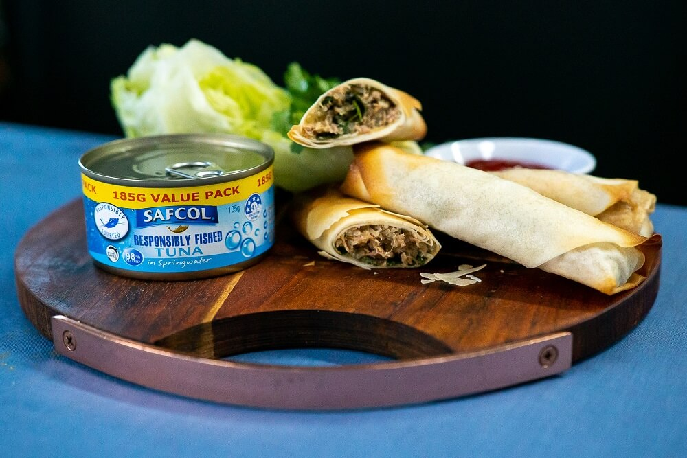 SAFCOL02 Tuna Spring Rolls 2 - FEATURE