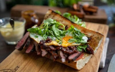Wagyu Steak Sandwich
