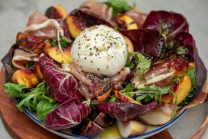 6098 Grilled Peach, Burrata and Proscuitto Salad 6 - HEADER