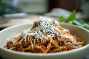 6103 Hand Rolled Pici with Pork Sausage Sugo 4 - FEATURE