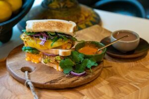 6121 Indian Spiced Omelette Toastie 1 - FEATURE