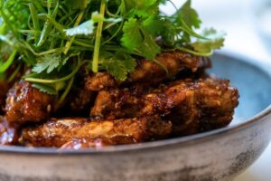 6123 Sticky Ginger-Soy Chicken Wings 4 - HEADER