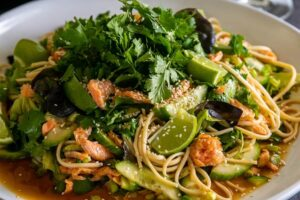 6131 Trout and Udon Noodle Salad (King Valley) 3 - HEADER