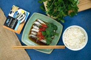SAFCOL05 Sardines with Black Bean and Ginger 1 - HEADER