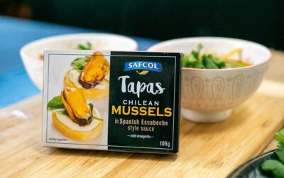 Mussles in Hot and Sour Soup
