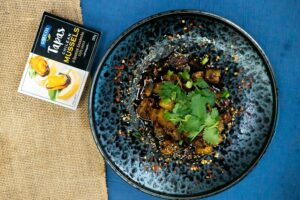 SAFCOL07 Szechuan Mussels and Eggplant 1 - FEATURE